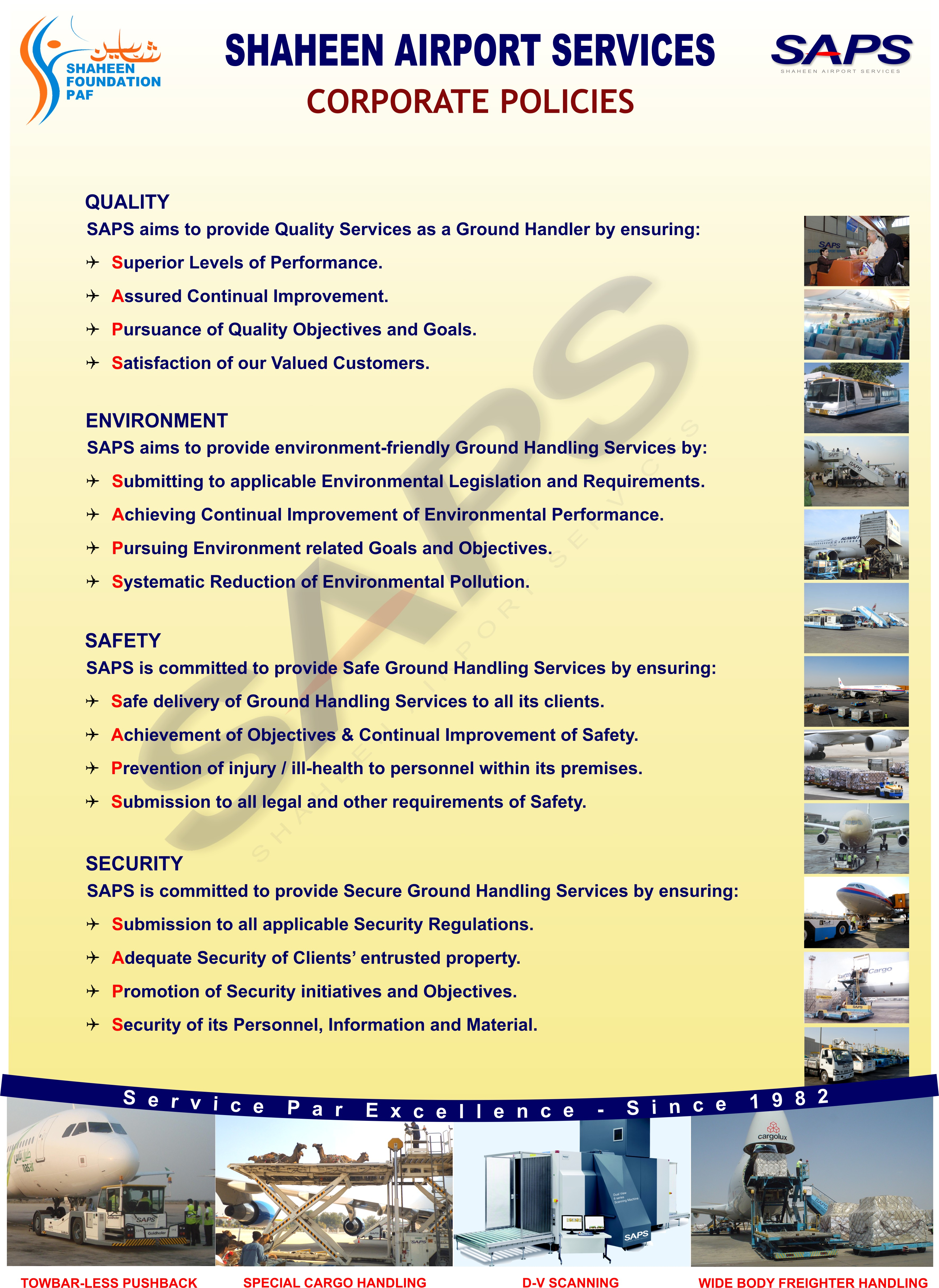 SAPS - Shaheen Airport Services